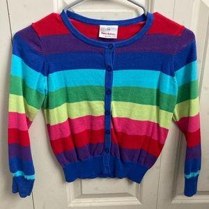Hanna Anderson Rainbow Cardigan